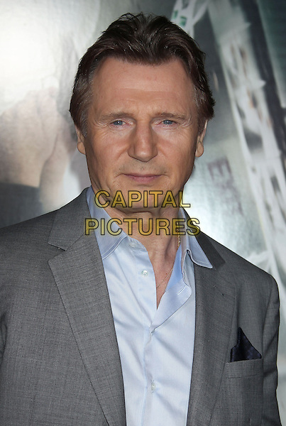24 February 2014 - Westwood, California - Liam Neeson. &quot;Non-Stop&quot; Los Angeles Premiere held at the Regency Village Theatre. <br /> CAP/ADM/RE<br /> &copy;Russ Elliot/AdMedia/Capital Pictures