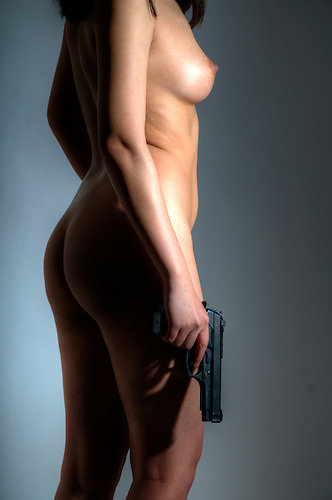 Female model shoot.