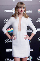 Taylor Swift attends 40 Principales awards photocall  2012 at Palacio de los Deportes in Madrid, Spain. January 24, 2013. (ALTERPHOTOS/Caro Marin) /NortePhoto