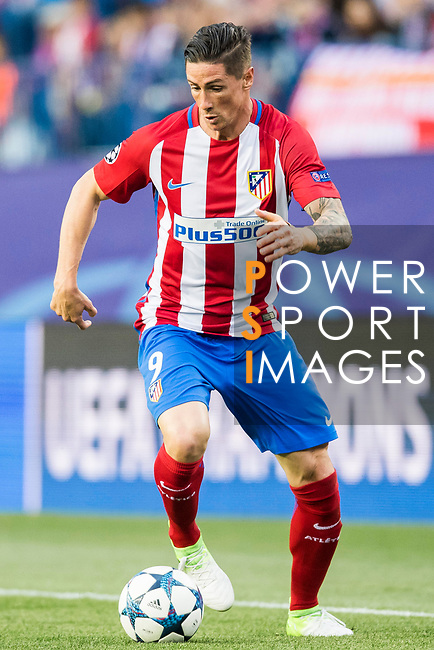 Fernando Torres of Atletico de Madrid in action during their 2016-17 UEFA Champions League Semifinals 2nd leg match between Atletico de Madrid and Real Madrid at the Estadio Vicente Calderon on 10 May 2017 in Madrid, Spain. Photo by Diego Gonzalez Souto / Power Sport Images