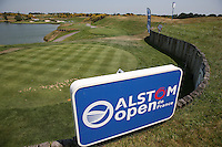 Behind the second tee during thePro-Am of the 2015 Alstom Open de France, played at Le Golf National, Saint-Quentin-En-Yvelines, Paris, France. /01/07/2015/. Picture: Golffile | David Lloyd<br /> <br /> All photos usage must carry mandatory copyright credit (&copy; Golffile | David Lloyd)