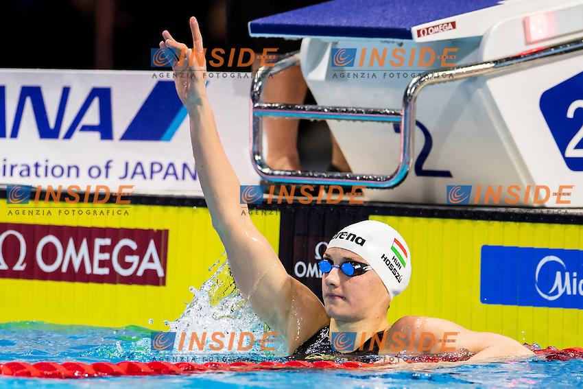 HOSSZU Katinka HUN Gold Medal<br /> Women's 100m Backstroke<br /> 13th Fina World Swimming Championships 25m <br /> Windsor  Dec. 7th, 2016 - Day02 Finals<br /> WFCU Centre - Windsor Ontario Canada CAN <br /> 20161207 WFCU Centre - Windsor Ontario Canada CAN <br /> Photo &copy; Giorgio Scala/Deepbluemedia/Insidefoto