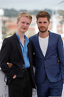Victor Polster and Lukas Dhont attend the photocall for 'GIRL' during the 71st annual Cannes Film Festival at Palais des Festivals on May 13, 2018 in Cannes, France.<br /> CAP/GOL<br /> &copy;GOL/Capital Pictures