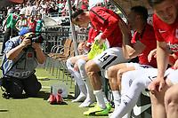 Alexander Meier (Eintracht Frankfurt) im Fokus der Fotografen bei seinem wohl letzten Spiel für die Eintracht - 05.05.2018: Eintracht Frankfurt vs. Hamburger SV, Commerzbank Arena, 33. Spieltag Bundesliga