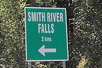 SMITH RIVER FALLS, NORTHERN BRITISH COLUMBIA, CANADA
