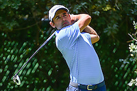 Fabrizio Zanotti (PAR) watches his tee shot on 4 during round 2 of the World Golf Championships, Mexico, Club De Golf Chapultepec, Mexico City, Mexico. 3/3/2017.<br /> Picture: Golffile | Ken Murray<br /> <br /> <br /> All photo usage must carry mandatory copyright credit (&copy; Golffile | Ken Murray)