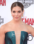 "Allison Holker attends The Premiere Of Marvel's ""Ant-Man"" held at The Dolby Theatre  in Hollywood, California on June 29,2015                                                                               © 2015 Hollywood Press Agency"