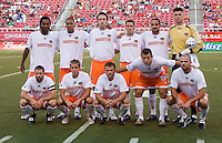 Dynamo starting eleven in the Real Salt Lake 3-1 win over Houston Dynamo at Rice Eccles Stadium in Salt Lake City, Utah August 19, 2006