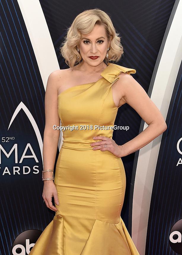 NASHVILLE, TN - NOVEMBER 14:  Kellie Pickler at the 52nd Annual CMA Awards at the Bridgetone Arena on November 14, 2018 iin Nashville, Tennessee. (Photo by Scott Kirkland/PictureGroup)