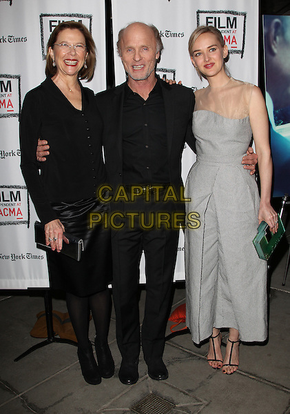 Los Angeles, CA - March 3: Annette Bening, Ed Harris, Jess Weixler Attending 'The Face of Love' Premiere Screening, Held at LACMA California on March 3, 2014 <br /> CAP/MPI/MPIUPA<br /> &copy;MPIUPA/MediaPunch/Capital Pictures