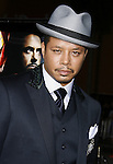 """Actor Terrence Howard arrives to the """"Iron Man"""" premiere at Grauman's Chinese Theatre on April 30, 2008 in Hollywood, California."""