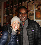 All My Children's Norm Lewis and Jessie Mueller star in the musical <br />  The Music Man at the Eisenhower Theater at the  John F. Kennedy Center for the Performing Arts, Washington D.C. in a sold out run and photos were taken on February 10, 2019 in the green room.  (Photo by Sue Coflin/Max Photo)