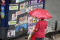 Rio de Janeiro, RJ, 6 de  junho de  2012- Tempo chuvoso  na  manh&atilde; dessa  quarta-feira(6), na regiao oeste da capital fluminense .<br /> Guto Maia Brazil Photo Press