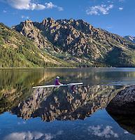 Jenny Lake in Jackson Hole, WY
