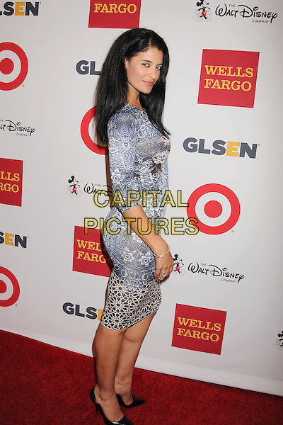 BEVERLY HILLS, CA- OCTOBER 17: Actress Jessica Clark arrives at the 10th Annual GLSEN Respect Awards at the Regent Beverly Wilshire Hotel on October 17, 2014 in Beverly Hills, California.<br /> CAP/ROT/TM<br /> &copy;Tony Michaels/Roth Stock/Capital Pictures