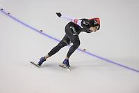 SCHAATSEN: CALGARY: Olympic Oval, 09-11-2013, Essent ISU World Cup, 1500m, Christine Nessbit (CAN), ©foto Martin de Jong