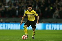 Jadon Sancho of Borussia Dortmund during Tottenham Hotspur vs Borussia Dortmund, UEFA Champions League Football at Wembley Stadium on 13th February 2019
