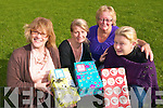 St Annes Adult Education Centre for Travellers in Killarney are currently filling up shoeboxes for Team Hope Christmas Shoebox Appeal to give gifts to children this year. .L-R Anne Doyle, Philomena Dooley, Sylvia Lord of Team Hope and Jane O'Brien
