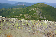 Appalachian Trail - Mount Eisenhower from Crawford Path during the summer months in the White Mountains, New Hampshire USA.