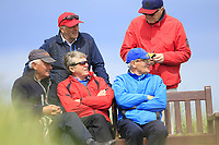 Des Smith (IRL) watching the play on the 10th tee during Round 4 of The East of Ireland Amateur Open Championship in Co. Louth Golf Club, Baltray on Monday 3rd June 2019.<br /> <br /> Picture:  Thos Caffrey / www.golffile.ie<br /> <br /> All photos usage must carry mandatory copyright credit (© Golffile | Thos Caffrey)
