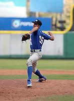 Rolando Sirit participates in the MLB International Showcase at Estadio Quisqeya on February 22-23, 2017 in Santo Domingo, Dominican Republic.