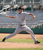 Chaz Roe - Scottsdale Scorpions, 2009 Arizona Fall League.Photo by:  Bill Mitchell/Four Seam Images..