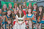 PRETTY GIRLS: Queen of Puck Fair Caoimhe OSullivan (centre) with her ladies in waiting. Front l-r: Aine Brennan and Johanne OCallaghan. Middle row l-r: Ann Maire Galvin, Aoibheann OGrady, Aoife OCallaghan and Grace OCallaghan. Back row l-r: Nicola Murphy, Kim Quinn, Katie Teahan, Annie Collins, Mairead Rafferty, Naomi Kelleher and Aoife Foyle..