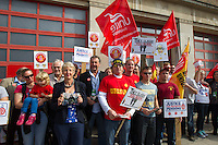 FBU Strike Brighton 25 10 13