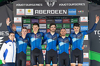 Picture by Allan McKenzie/SWpix.com - 17/05/2018 - Cycling - OVO Energy Tour Series Mens Race Round 3:Aberdeen - Canyon Eisberg take the team award on the evening.