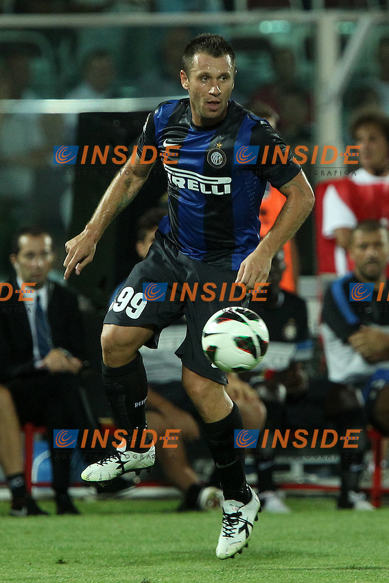 Antonio Cassano Inter..Pescara 26/08/2012 Stadio Adriatico..Football Calcio Serie A Pescara v Inter..Foto Insidefoto Paolo Nucci..