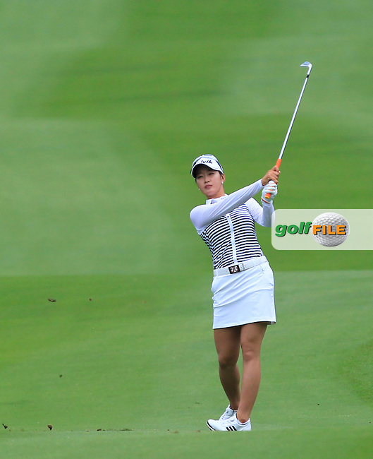 Chella Choi (KOR) on the 10th fairway during Round 1 of the Honda LPGA Thailand on Thursday 23rd February 2017.<br /> Picture:  Thos Caffrey / Golffile