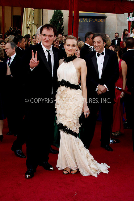 WWW.ACEPIXS.COM . . . . .  ....March 7 2010, Hollywood, CA....Director Quentin Tarantino and actress Diane Kruger at the 82nd Annual Academy Awards held at Kodak Theatre on March 7, 2010 in Hollywood, California.....Please byline: Z10-ACE PICTURES... . . . .  ....Ace Pictures, Inc:  ..Tel: (212) 243-8787..e-mail: info@acepixs.com..web: http://www.acepixs.com