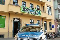 2014/09/17 Berlin | Flüchtlinge besetzen Grünen-Parteizentrale