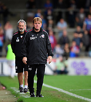 Scunthorpe United manager Stuart McCall, right, with Scunthorpe United's assistant manager Kenny Black<br /> <br /> Photographer Chris Vaughan/CameraSport<br /> <br /> The EFL Sky Bet League One - Scunthorpe United v Peterborough United - Saturday 13th October 2018 - Glanford Park - Scunthorpe<br /> <br /> World Copyright &copy; 2018 CameraSport. All rights reserved. 43 Linden Ave. Countesthorpe. Leicester. England. LE8 5PG - Tel: +44 (0) 116 277 4147 - admin@camerasport.com - www.camerasport.com