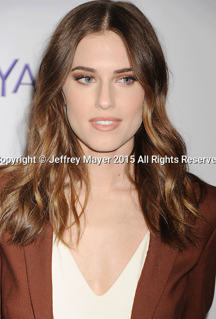 HOLLYWOOD, CA - MARCH 08: Actress Allison Williams attends The Paley Center For Media's 32nd Annual PALEYFEST LA - 'Girls' at Dolby Theatre on March 8, 2015 in Hollywood, California.
