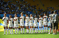 Team USA during the opening ceremony during the FIFA U20 Women's World Cup at the Rudolf Harbig Stadium in Dresden, Germany on July 14th, 2010.