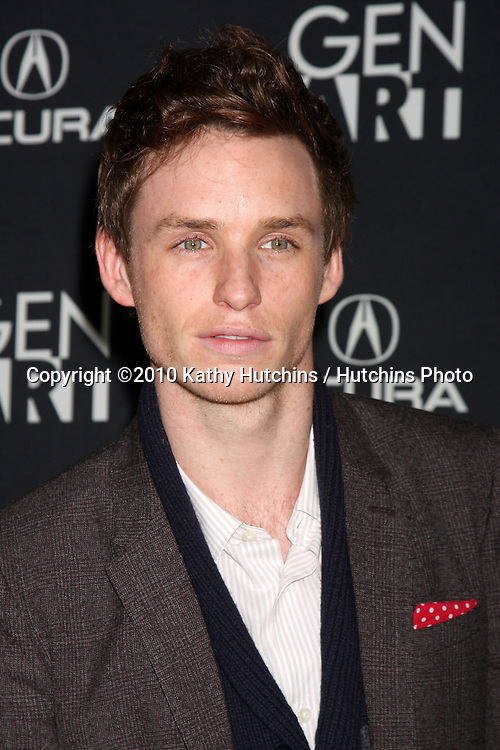 """Eddie Redmayne.arriving at """"The Yellow Handkerchief"""" LA Premiere.Pacific Design Center Silver Screen Theater.Los Angeles, CA.February 18, 2010.©2010 Kathy Hutchins / Hutchins Photo...."""