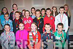 Squad B swimming team of the Kenmare Bay Swimming club after receiving their medals at the first ever swimming gala for the club last weekend.