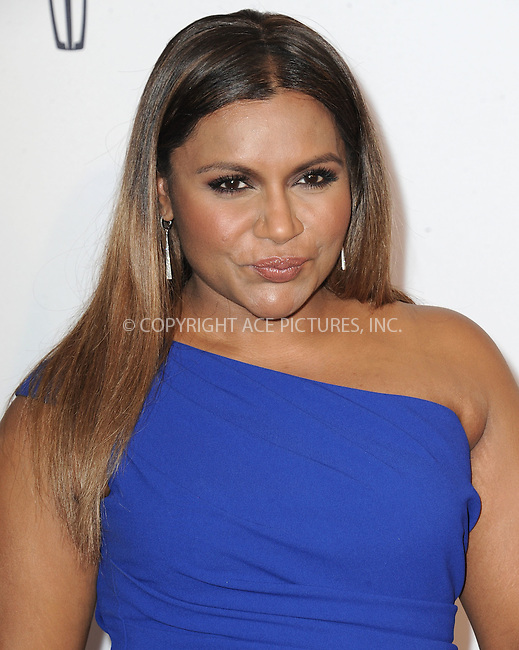 WWW.ACEPIXS.COM<br /> <br /> May 24 2016, LA<br /> <br /> Mindy Kaling arriving at the 41st Annual Gracie Awards at the Regent Beverly Wilshire Hotel on May 24, 2016 in Beverly Hills, California.<br /> <br /> By Line: Peter West/ACE Pictures<br /> <br /> <br /> ACE Pictures, Inc.<br /> tel: 646 769 0430<br /> Email: info@acepixs.com<br /> www.acepixs.com