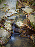 Spring in Sarah P. Duke Gardens.<br /> Rocks and water near the President's Bridge<br /> Photo by Bill Snead/Duke Photography #dukephotoaday, #dukefacilities