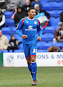 Jamaal Lascelles of Stevenage (on loan from Nottm Forest). - Tranmere Rovers v Stevenage - npower League 1 - Prenton Park, Tranmere - 6th April, 2012 . © Kevin Coleman 2012