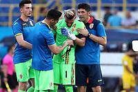 Ionut Radu of Romania dejection <br /> Bologna 27-06-2019 Stadio Renato Dall'Ara <br /> Football UEFA Under 21 Championship Italy 2019<br /> Semifinal <br /> Germany - Romania <br /> Photo Cesare Purini / Insidefoto