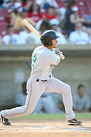 May 29, 2010: Daniel Carroll (2) of the Clinton LumberKings at Elfstrom Stadium in Geneva, IL. The LumberKings are the Midwest League Class A affiliate of the Seattle Mariners. Photo by: Chris Proctor/Four Seam Images