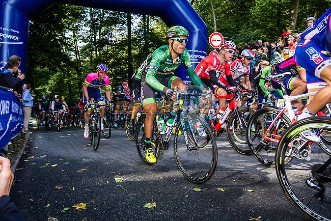 Team Europcar, Vattenfall Cyclassics, Waseberg, Hamburg, Germany, 24 August 2014, Photo by Thomas van Bracht