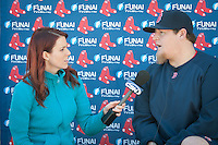 Pitcher Bobby Jenks. Boston Red Sox return for spring training, Fort Myers, Florida, USA, Feb. 13, 2011. Photo by Debi Pittman Wilkey