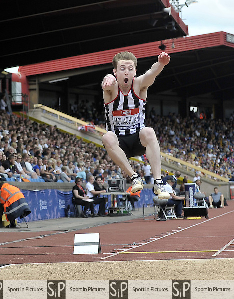 James McLachlan (Norwich). Mens long jump. British Athletics Championships. Alexander Stadium. Birmingham. UK. 26/06/2016. ~ MANDATORY CREDIT Garry Bowden/SIPPA - NO UNAUTHORISED USE - +447837 394578