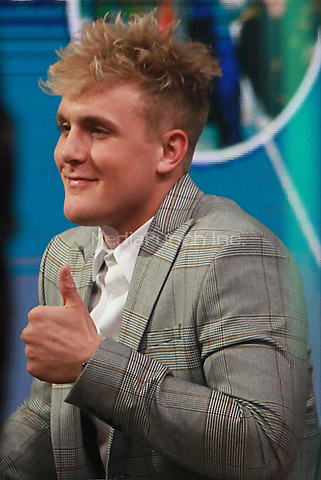 NEW YORK, NY March 15, 2018:  Logan Paul at Good Morning America  the YouTube Channel star with 15 million followers recently  know for sharing video of a dead body hanging in a Aokigahara forest in Japan know as the suicide forest  in New York. March 15, 2018 Credit:RW/MediaPunch