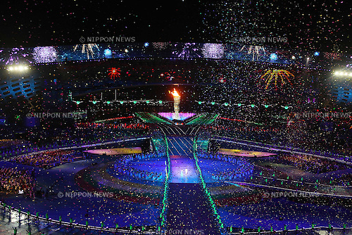 General view, ..AUGUST 12, 2011 - Opening Ceremony : ..The 26th Summer Universiade 2011 Shenzhen ..Opening Ceremony ..at Main Stadium of Universiade Center, Shenzhen, China. ..(Photo by YUTAKA/AFLO SPORT) [1040]