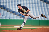 New York Yankees pitcher Tanner Myatt (37) delivers a pitch during a Florida Instructional League game against the Philadelphia Phillies on October 12, 2018 at Spectrum Field in Clearwater, Florida.  (Mike Janes/Four Seam Images)