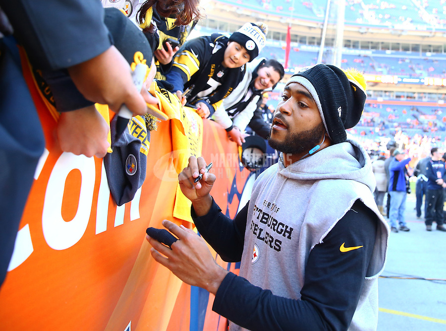 Jan 17, 2016; Denver, CO, USA; Pittsburgh Steelers safety Mike Mitchell (23) against the Denver Broncos during the AFC Divisional round playoff game at Sports Authority Field at Mile High. Mandatory Credit: Mark J. Rebilas-USA TODAY Sports
